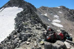 Testing the Bobcat Cooking System, Glen Pass, - 12,000 feet
