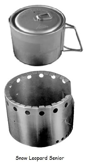 Cooker For Snowmobile ~ Snow leopard cooking system flat cat gear